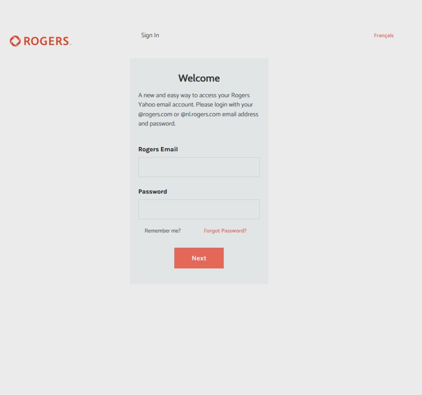 Fake Login Landing Page